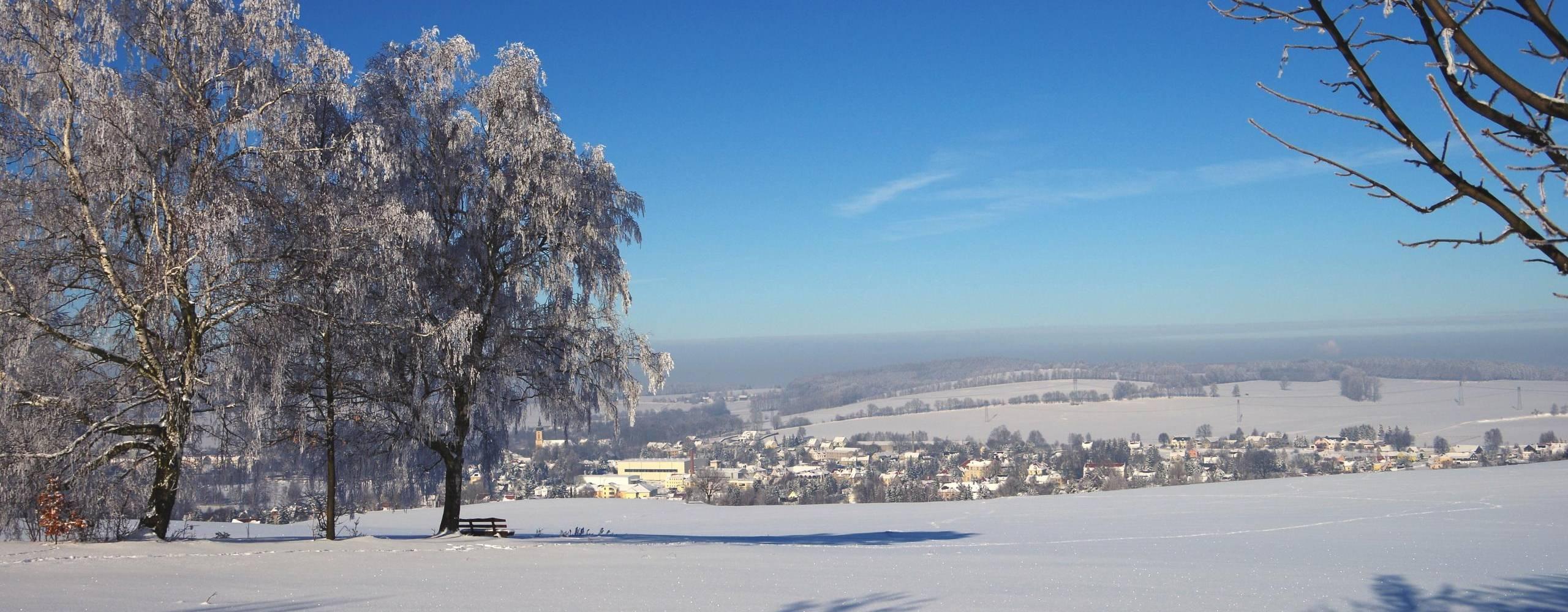 wintersport ©Neukirch/Lausitz im Schnee Fotograf: Gemeindeverwaltung Neukirch/Lausitz